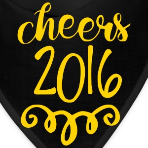 CHEERS 2016 - GOODBYE 2015 Caps - Bandana