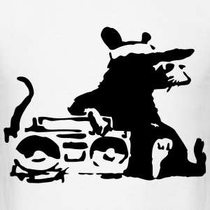 Banksy Rat #2 T-SHIRT - Men's T-Shirt