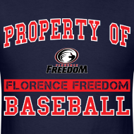 Design ~ Property of Florence Freedom Baseball