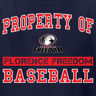 Design ~ Youth Property of Florence Freedom Baseball