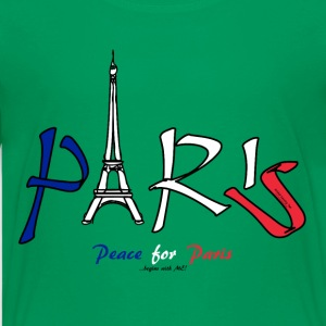 Peace for Paris...begins with ME! Kids' Shirts - Kids' Premium T-Shirt