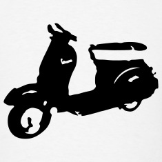 Vespa Scooter T-SHIRT