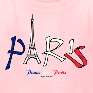 Peace for Paris...begins with ME! Kids' Shirts - Kids' T-Shirt