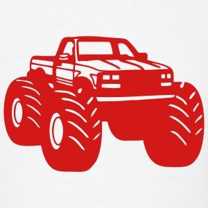 Monster Truck T-SHIRT - Men's T-Shirt