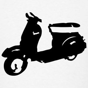 Vespa Scooter T-SHIRT - Men's T-Shirt