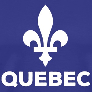 Quebec Flower symbol and Types - Men's Premium T-Shirt