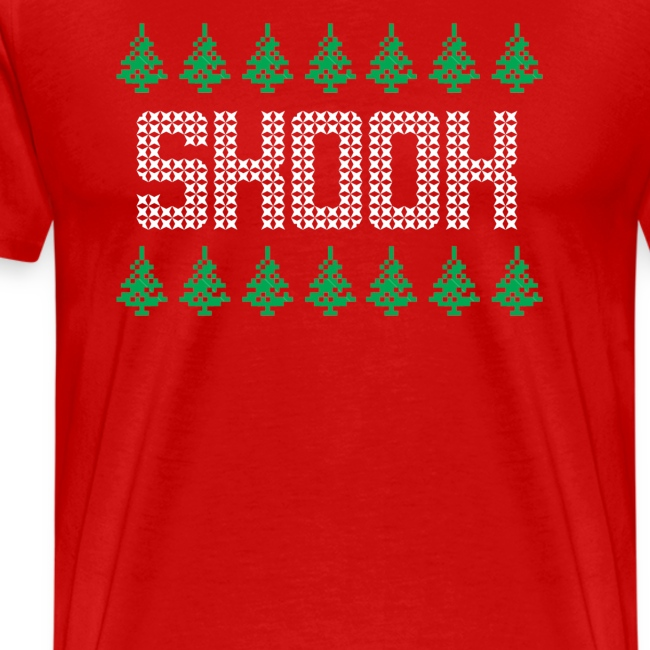 ugly skook christmas tee mens big and tall