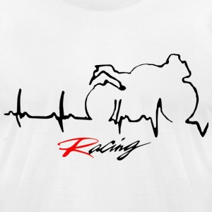 Racing - Men's T-Shirt by American Apparel