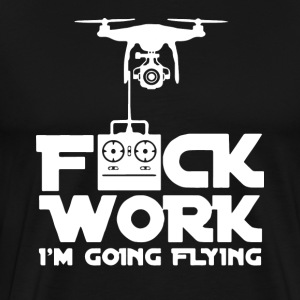 Quadcopter Funny T-Shirt - Men's Premium T-Shirt
