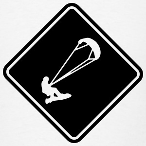 Kitesurf Roadsign T-SHIRT - Men's T-Shirt