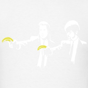 Banksy Pulp Fiction Bananas T-SHIRT - Men's T-Shirt