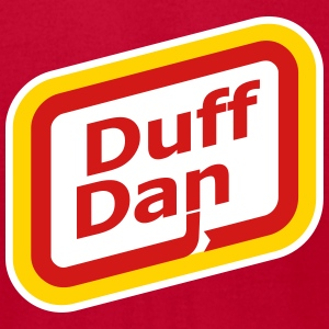 My t-shirt has a first name... it's d-u-f-f-d-a-n  - Men's T-Shirt by American Apparel
