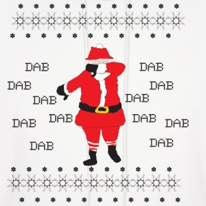Dabbing Santa Claus Ugly Christmas Sweater - Men's Hoodie