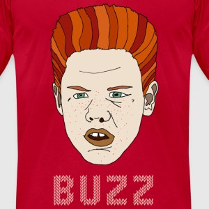 Buzz - Men's T-Shirt by American Apparel