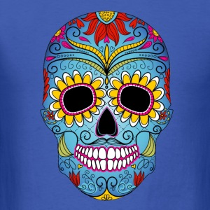 Day of the Dead mask - Men's T-Shirt