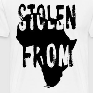 STOLEN FROM AFRICA - Men's Premium T-Shirt