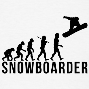 snowboarding evolution snowboarder T-SHIRT - Men's T-Shirt