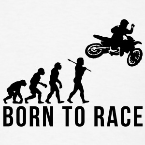 motocross evolution 2 born to race T-SHIRT - Men's T-Shirt