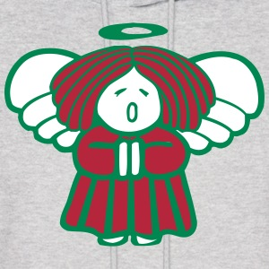 Christmas Angel Hoodies - Men's Hoodie