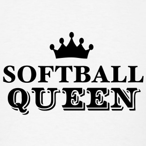 softball queen T-SHIRT - Men's T-Shirt