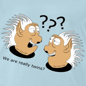 We are really twins by Claudia-Moda - Men's Premium T-Shirt