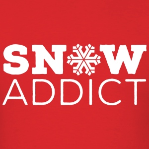 Snow Addict - Men's T-Shirt