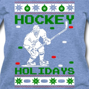 Hockey Holidays Long Sleeve Shirts - Women's Wideneck Sweatshirt