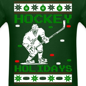 Hockey Holidays T-Shirts - Men's T-Shirt
