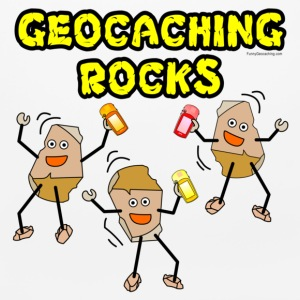 Three Geocaching Rocks Other - Mouse pad Horizontal
