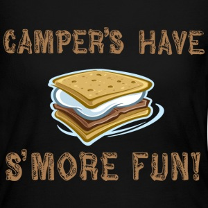 Camper's Have Smore Fun! Long Sleeve Shirts - Women's Long Sleeve Jersey T-Shirt