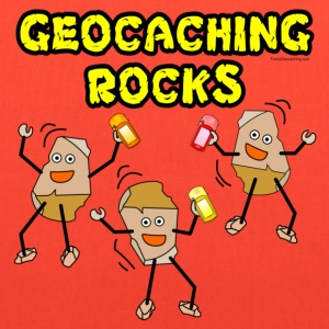 Three Geocaching Rocks Bags & backpacks - Tote Bag