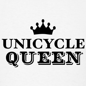 unicycle queen T-SHIRT - Men's T-Shirt