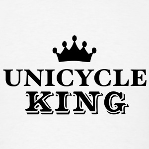 unicycle king T-SHIRT - Men's T-Shirt