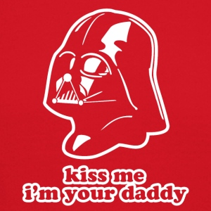 Darth Vader Kiss Me Long Sleeve Shirts - Crewneck Sweatshirt