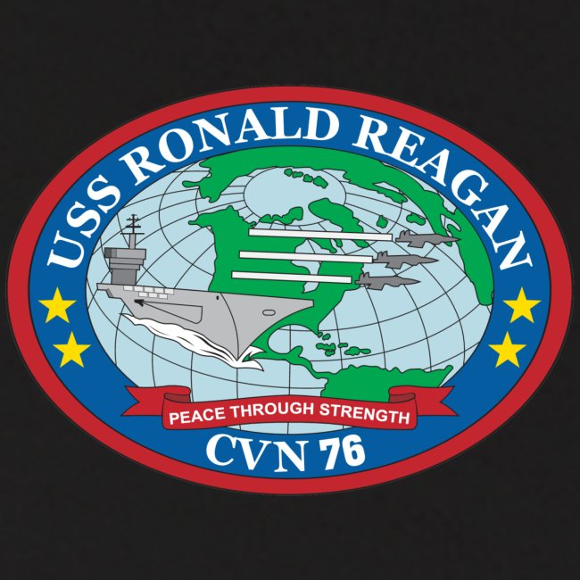 USS RONALD REAGAN 2008 CRUISE HOODIE