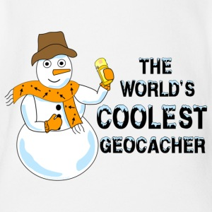 World's Coolest Geocacher Baby Bodysuits - Short Sleeve Baby Bodysuit