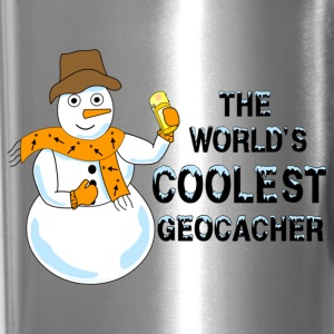 World's Coolest Geocacher Mugs & Drinkware - Travel Mug
