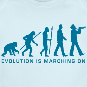 evolution marching band trumpet player_112015_b_1c Baby Bodysuits - Short Sleeve Baby Bodysuit