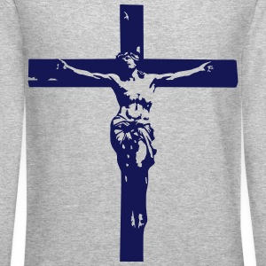 JESUS  Long Sleeve Shirts - Crewneck Sweatshirt
