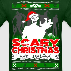 Scary Christmas Zombies T-Shirts - Men's T-Shirt