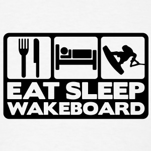 eat sleep wakeboard 02 T-SHIRT - Men's T-Shirt