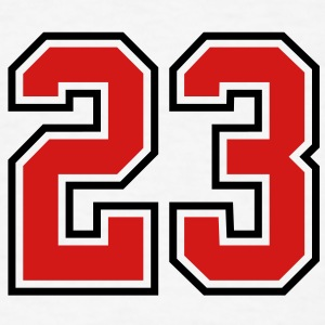 23 sports jersey football number T-SHIRT - Men's T-Shirt