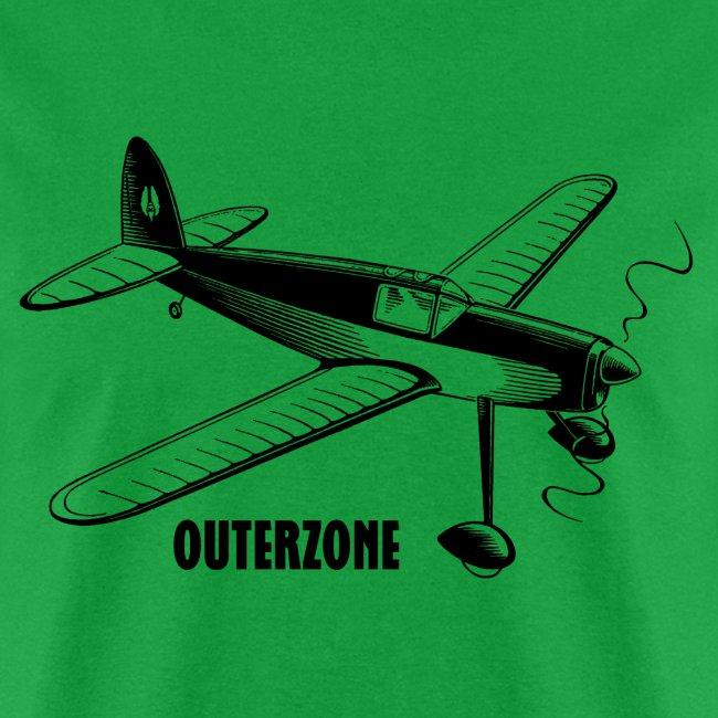 Outerzone, black logo