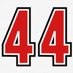 44 sports jersey football number T-SHIRT - Men's T-Shirt