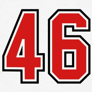 46 sports jersey football number T-SHIRT - Men's T-Shirt