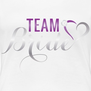 Team-Bride Women's T-Shirts - Women's Premium T-Shirt