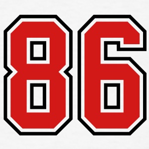 86 sports jersey football number T-SHIRT - Men's T-Shirt