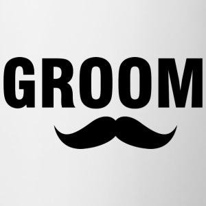 Groom-stache Mugs & Drinkware - Coffee/Tea Mug