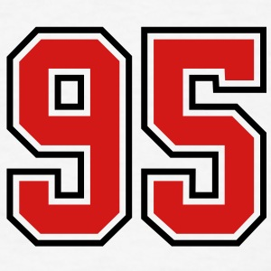 95 sports jersey football number T-SHIRT - Men's T-Shirt