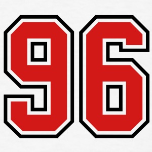 96 sports jersey football number T-SHIRT - Men's T-Shirt